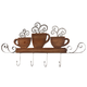 Hot Coffee Wood & Metal Wall Hanging, One Size