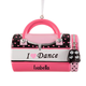 Personalized I Love Dance Bag Ornament, One Size