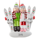Personalized Skiing Couple Ornament, One Size