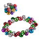 Set of Jingle Bell Bracelet and Adjustable Ring, One Size