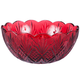Dublin Red Crystal Serving Bowl, One Size