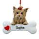 Personalized Yorkie Ornament, One Size