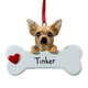 Personalized Chihuahua Ornament, One Size