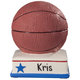 Personalized Basketball Bank, One Size