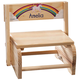 Personalized Children's Unicorn Step Stool, One Size