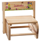 Personalized Children's Butterflies & Flowers Step Stool, One Size