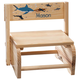 Personalized Children's Sharks Step Stool, One Size