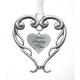 Pewter Amazing Mom Ornament, One Size
