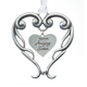 Pewter Amazing Sister Ornament, One Size