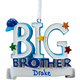 Personalized Big Brother Ornament, One Size