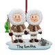 Personalized Eskimo Family Ornament