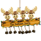 Personalized Moose Family Ornament, One Size