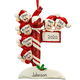 Personalized Street Post Family Ornament, One Size