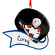 Personalized Hockey Ornament