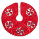 Red Frosted Candy Tree Skirt by Holiday Peak™, One Size