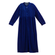 Front Zip Velour Robe by Sawyer Creek, One Size