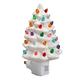 White Ceramic Tree Night Light, One Size