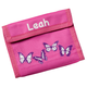 Personalized Children's Wallets, One Size, Pink