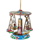 Tin Carousel Ornament, One Size