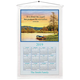 Personalized Serenity By The Lake Calendar Towel, One Size
