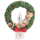 Charming Tails Mouse in Wreath Flicker Night Light, One Size