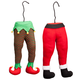 Santa and Elf Legs, Set of 2, One Size