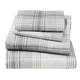 Printed Cotton Flannel Sheet Set, One Size