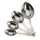 Stainless Steel Measuring Cup Scoops, Set of 4