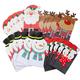 Holiday Die Cut Gift Sacks Set of 24