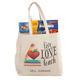 Personalized Live Love Teach Tote