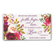 Personalized 2 Yr. Planner Faith Hope Love Floral, One Size