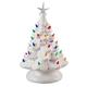 White Ceramic Tree, One Size