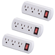 Triple Plug Adapter Set of 3