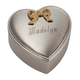 Personalized Silverplated Heart Box