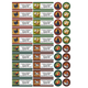 Personalized Rooster and Hens Labels and Seals 60