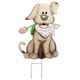 Metal Valentine's Puppy Stake by Fox River Creations™