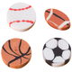 Sports Erasers - Pack Of 36, One Size