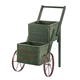 Personalized 2-Tier Garden Trolley, One Size