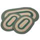 Spruce 3-Piece Two-Tone Braided Rug Set by OakRidge™