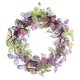 Colorful Butterflies Wreath, One Size