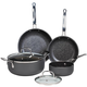 Homestyle Kitchen 6 Piece Non Stick Cookware Set