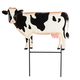 Metal Cow Lawn Stake by Fox River Creations™