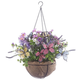 Fully Assembled Butterflies & Floral Hanging Basket