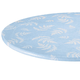 Fern Vinyl Elasticized Table Cover by Home Style Kitchen, One Size