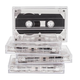 Blank Cassette Tapes, Set of 4