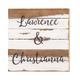 Custom Names Reclaimed Wood Sign by Sweet Bird & Co.