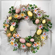 Easter Egg And Daisy Wreath