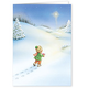 Footprints Christmas Card Set of 20