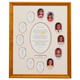 School Years Collage Frame - Pink, One Size