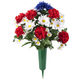 Patriotic Bouquet Memorial